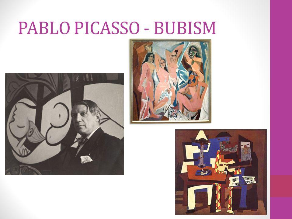 PABLO PICASSO - BUBISM