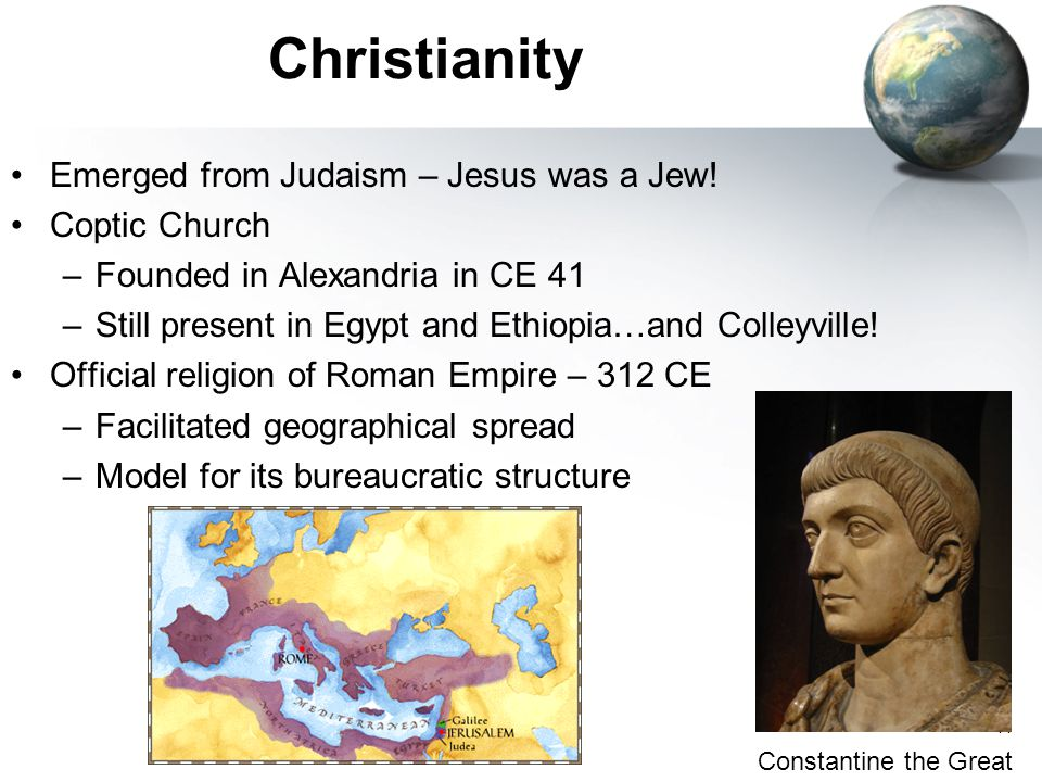 11 Christianity Emerged from Judaism – Jesus was a Jew.