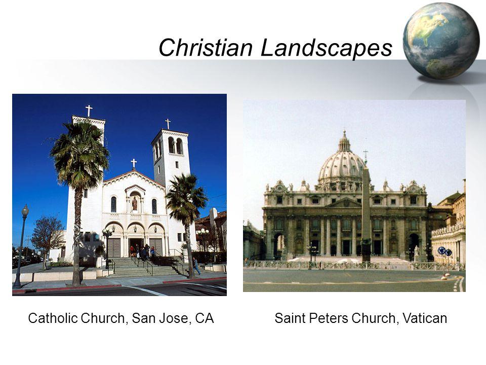 Christian Landscapes Catholic Church, San Jose, CASaint Peters Church, Vatican