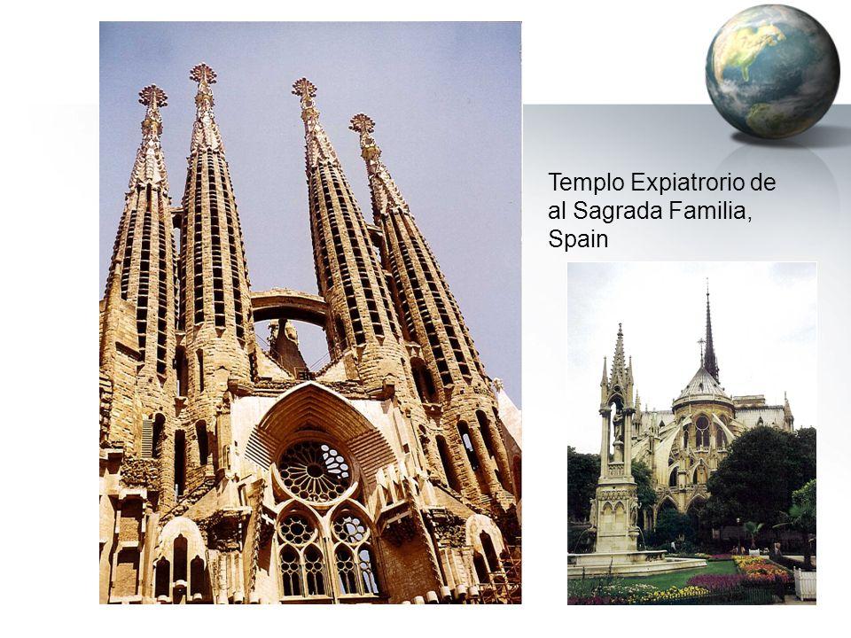 Templo Expiatrorio de al Sagrada Familia, Spain