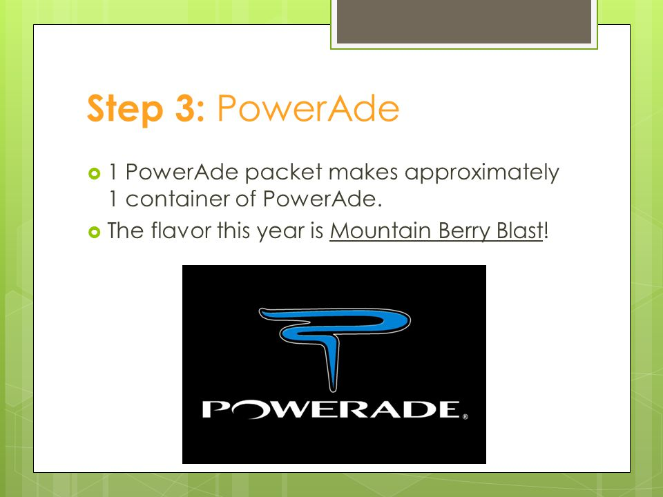 Step 4: Gel Packs  GU Gel Packs will be at two water stations  # 5 and #12.
