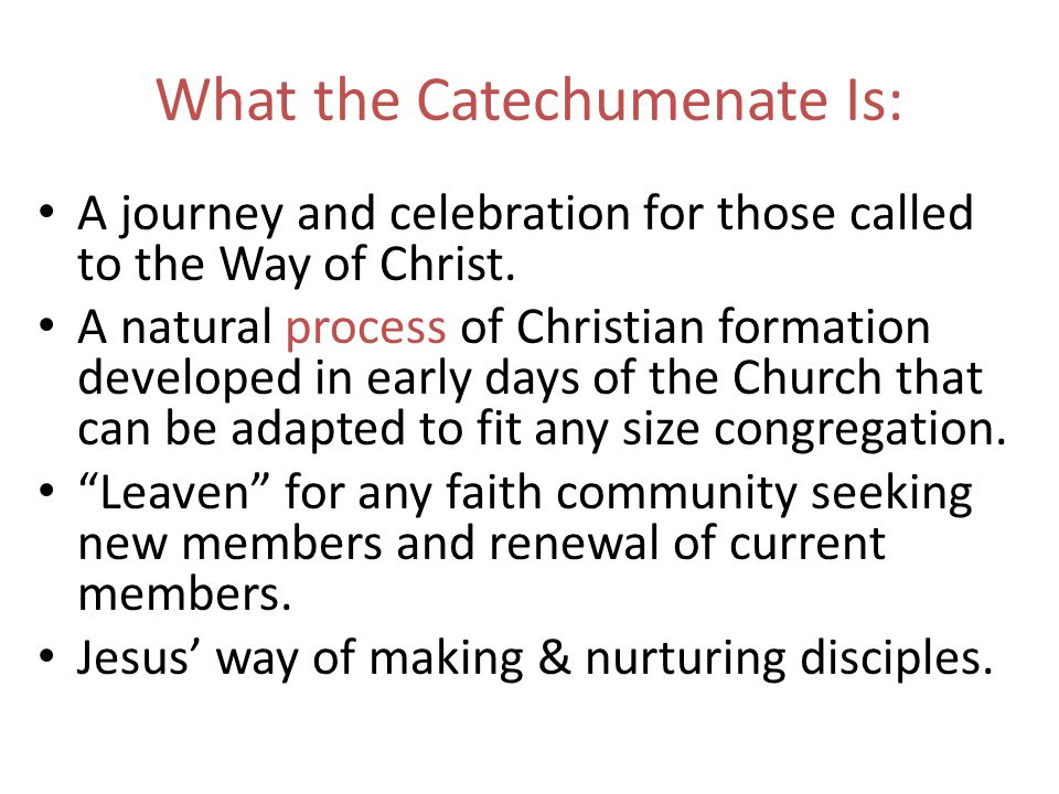 A journey and celebration for those called to the Way of Christ.