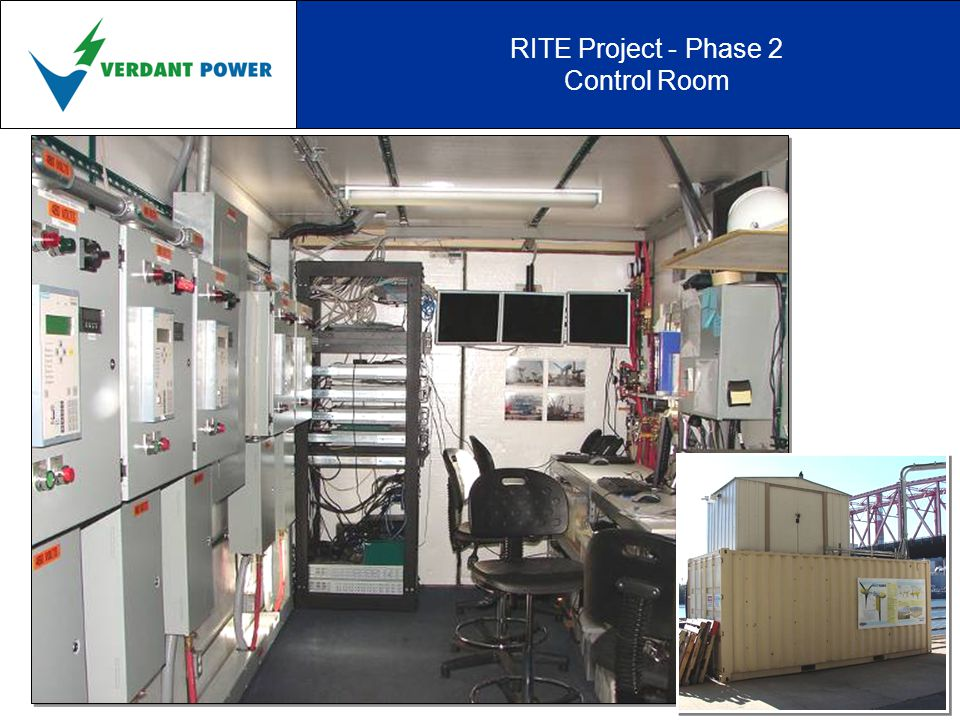 RITE Project - Phase 2 Control Room