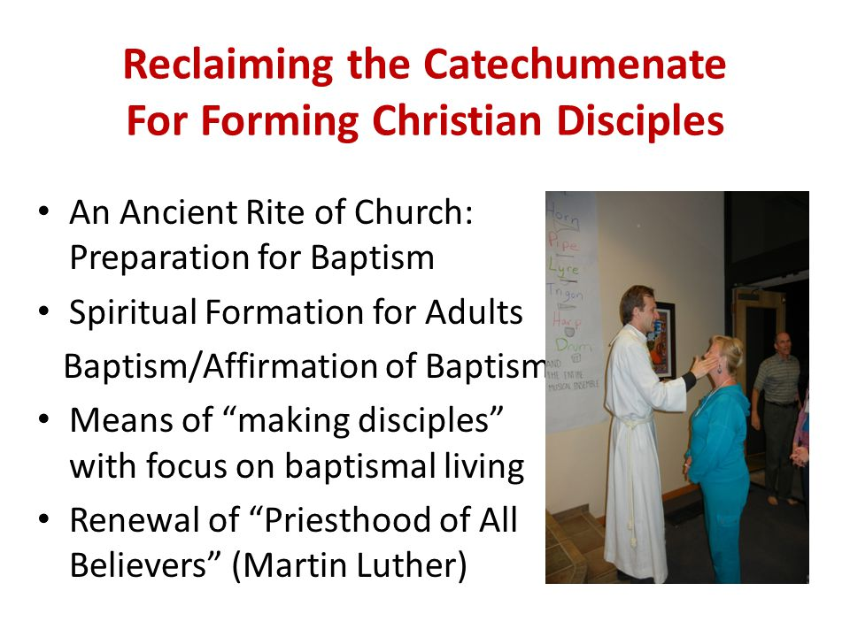 Two: Exploration and Formation Lay catechists provide some basic input on the basics of faith, prayer, and Bible.