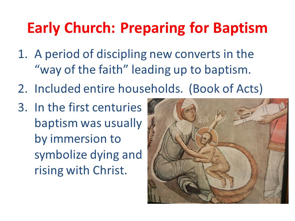 Three: Intense Preparation Scripture reflection on three John texts during the Lenten season: John 4, 9, 11 Discuss the service of Baptism/Affirmation of Baptism and review e Baptismal promises.