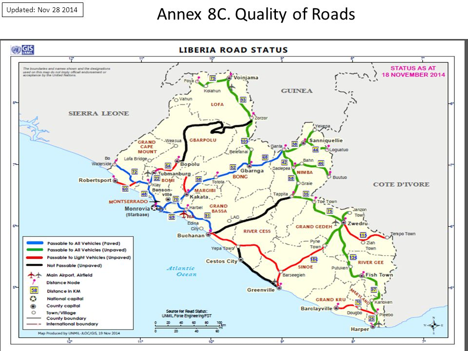 Annex 8C. Quality of Roads Updated: Nov 28 2014