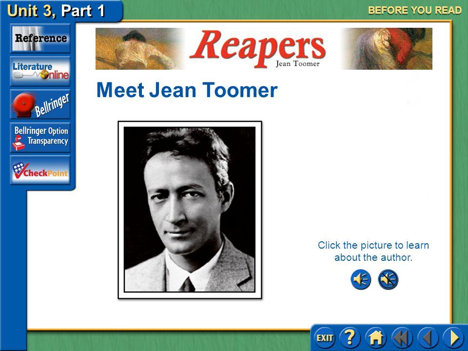 Reapers Unit 3, Part 1 SELECTION MENU Before You Read Reading the Selection After You Read Selection Menu (pages 546–549)