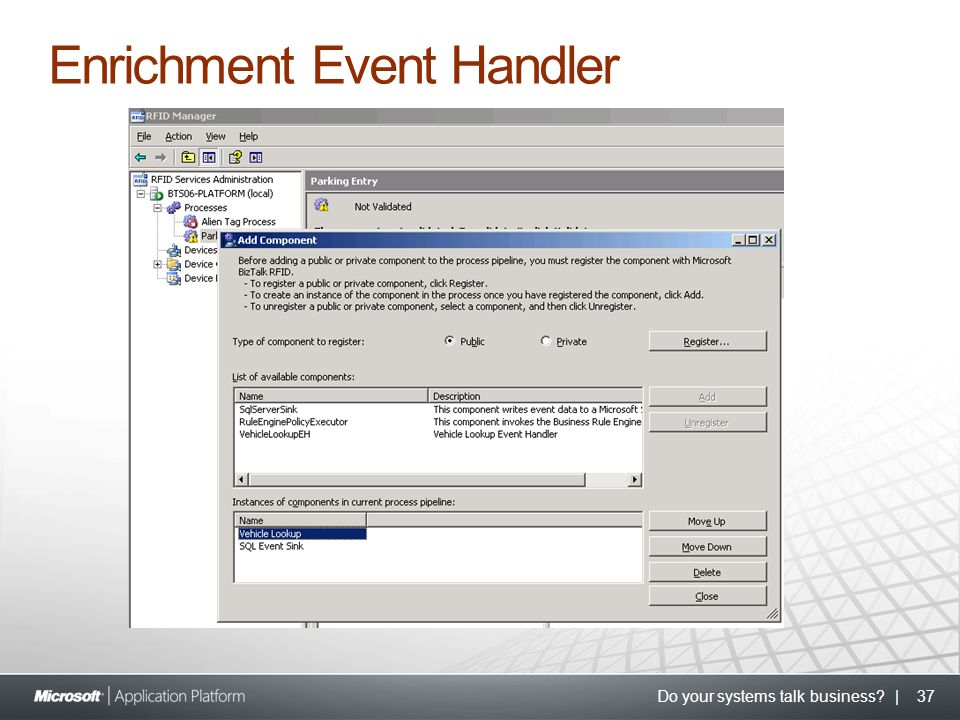 Do your systems talk business? | 37 Enrichment Event Handler