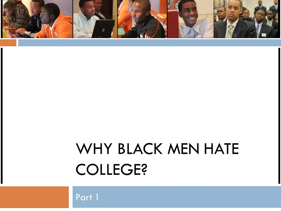 Most interesting fact (to me)  If all 1,127,170 black males who are currently enrolled in undergraduate programs eventually graduated, the number of total black males with college degrees would increase by 71%, nearly achieving parity with white males.