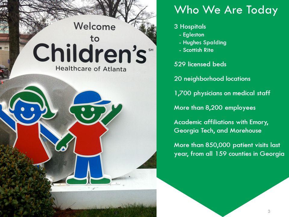 Children's Healthcare of Atlanta Metrics that matter 24 Retention System RN Vacancy System RN 2002 83% 85% 5% 7% 2013 YTD 92% 94% 3%
