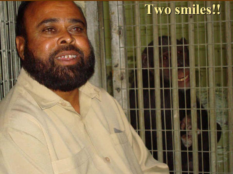 Two smiles!!