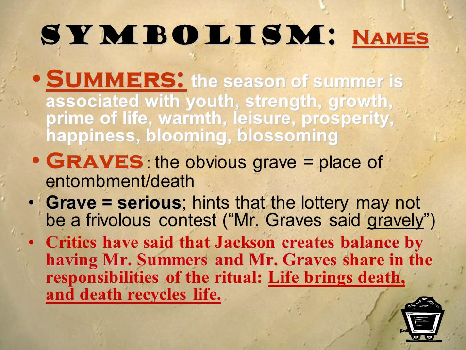 Symbolism: Names Summers: the season of summer is associated with youth, strength, growth, prime of life, warmth, leisure, prosperity, happiness, bloo