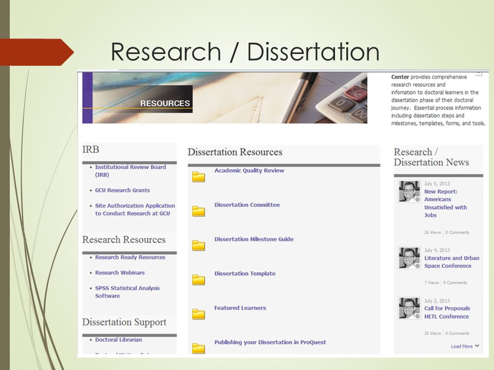 Research / Dissertation