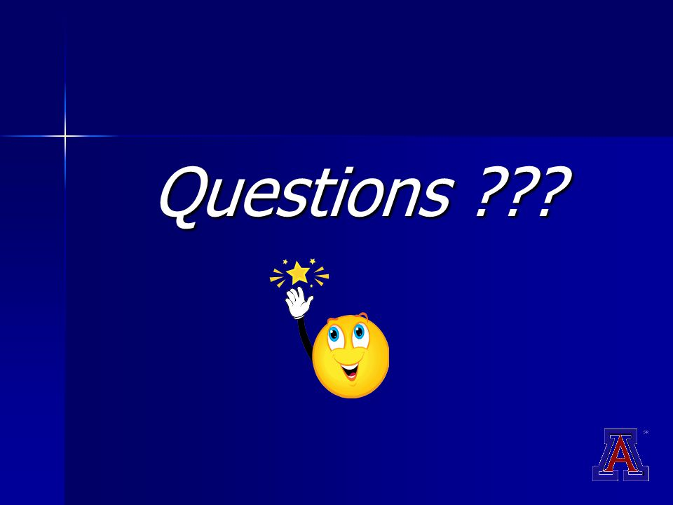 Questions ???