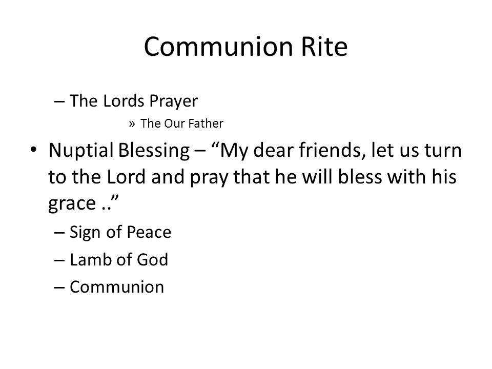 Concluding Rite Blessing - May God, the almighty Father give you his joy and bless.. – Dismissal Recessional – Ode to Joy