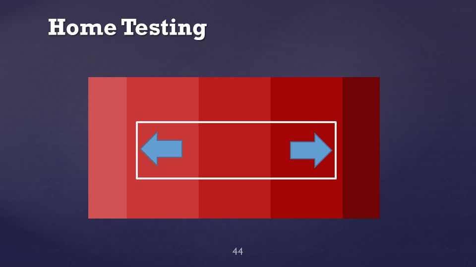 Home Testing 44