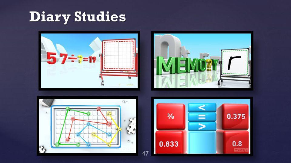 Diary Studies 47