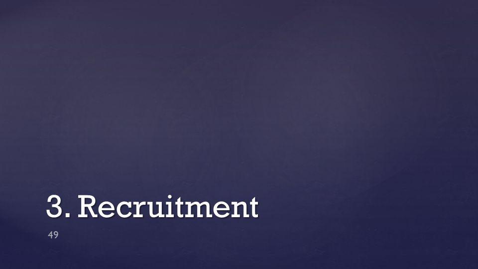 3. Recruitment 49