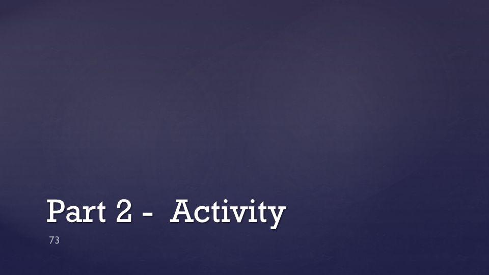 Part 2 - Activity 73