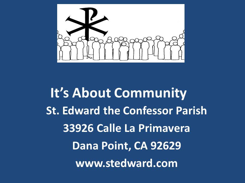 It's About Community St.