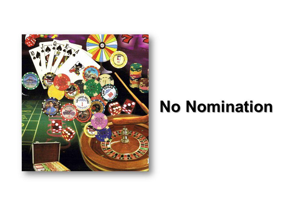 No Nomination