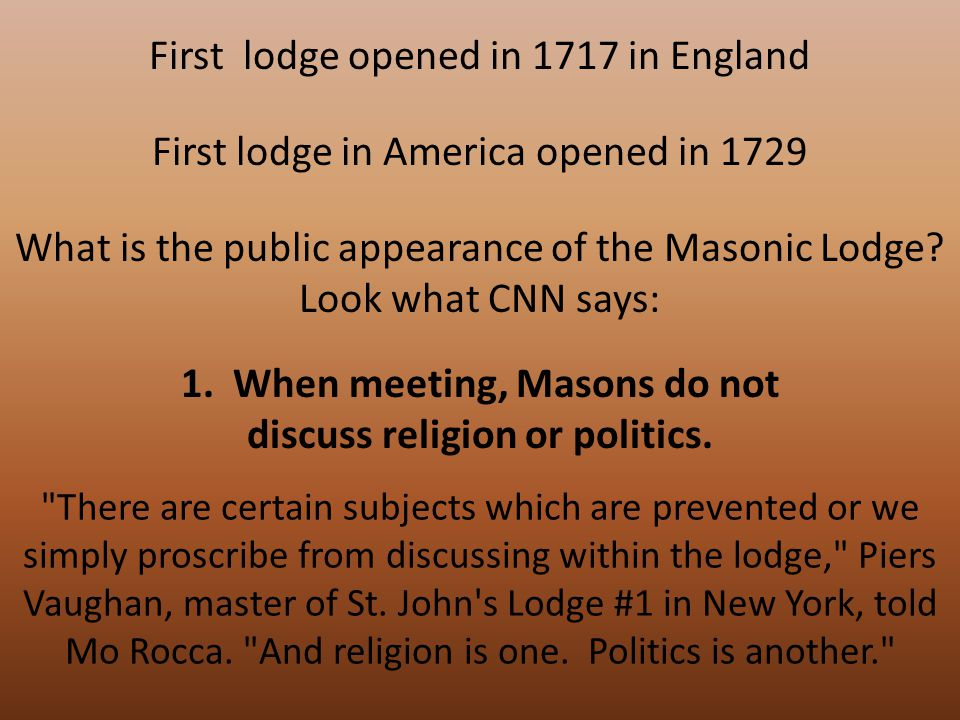 Every Masonic Lodge is a Temple of Religion (pg.