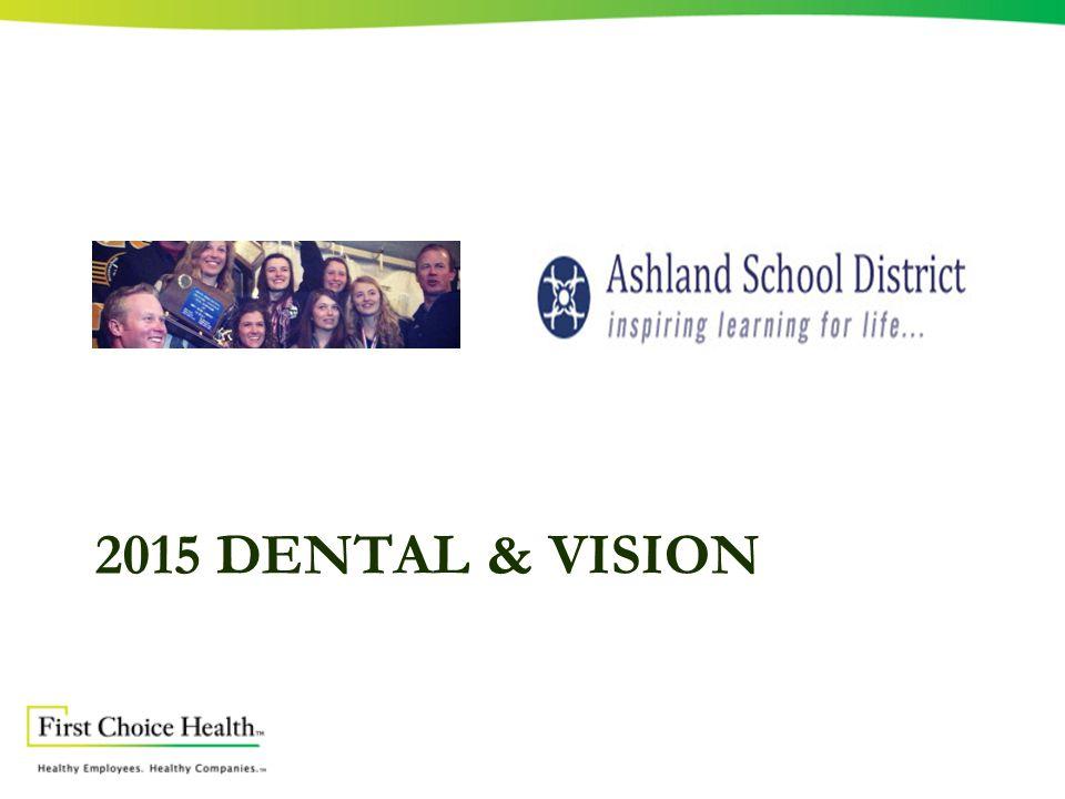 2015 DENTAL & VISION