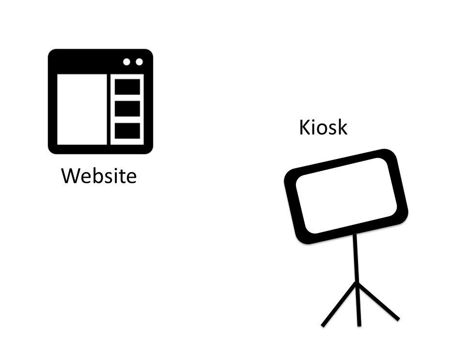Website Kiosk