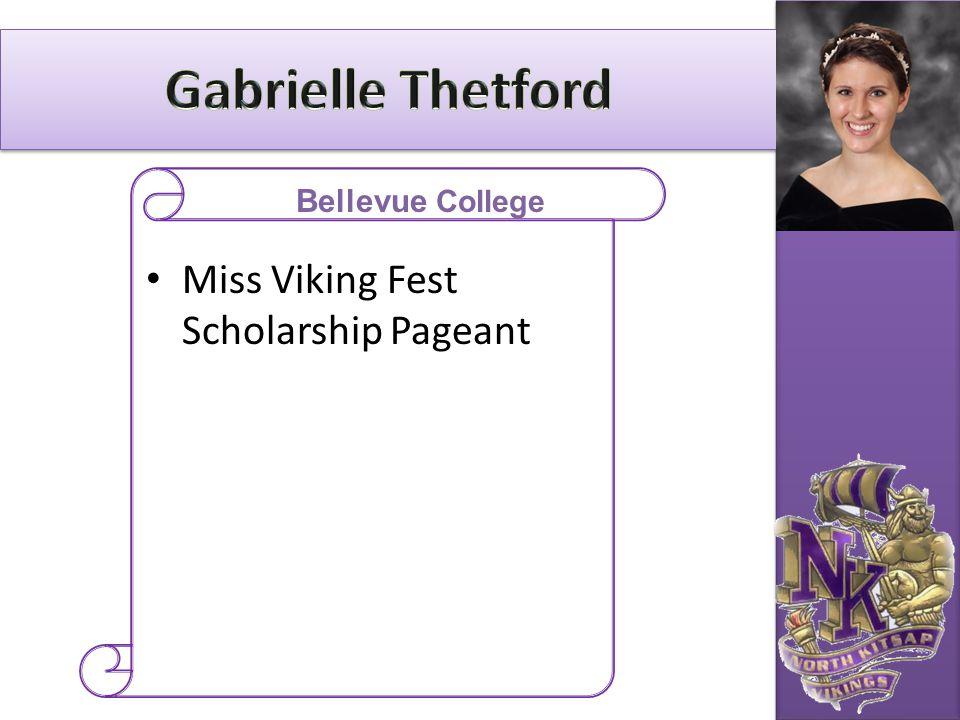 Miss Viking Fest Scholarship Pageant Bellevue College