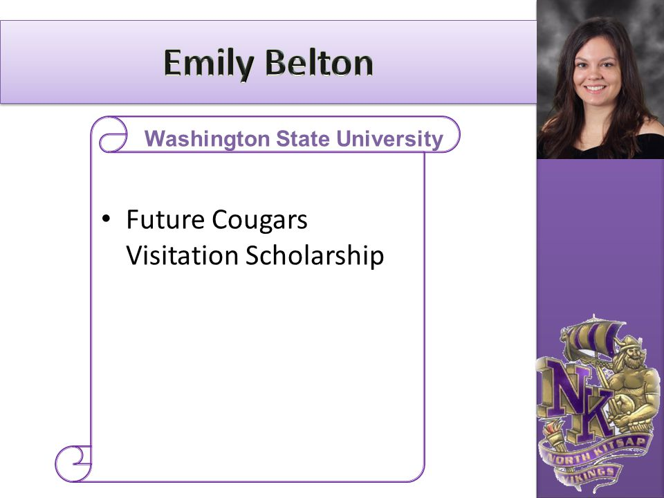 Future Cougars Visitation Scholarship Washington State University