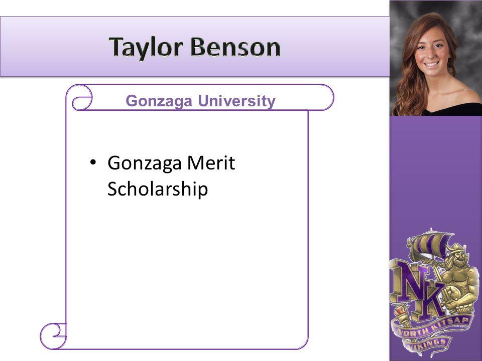 Gonzaga Merit Scholarship Gonzaga University