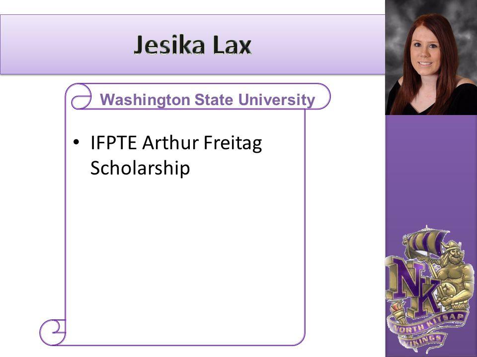 IFPTE Arthur Freitag Scholarship Washington State University