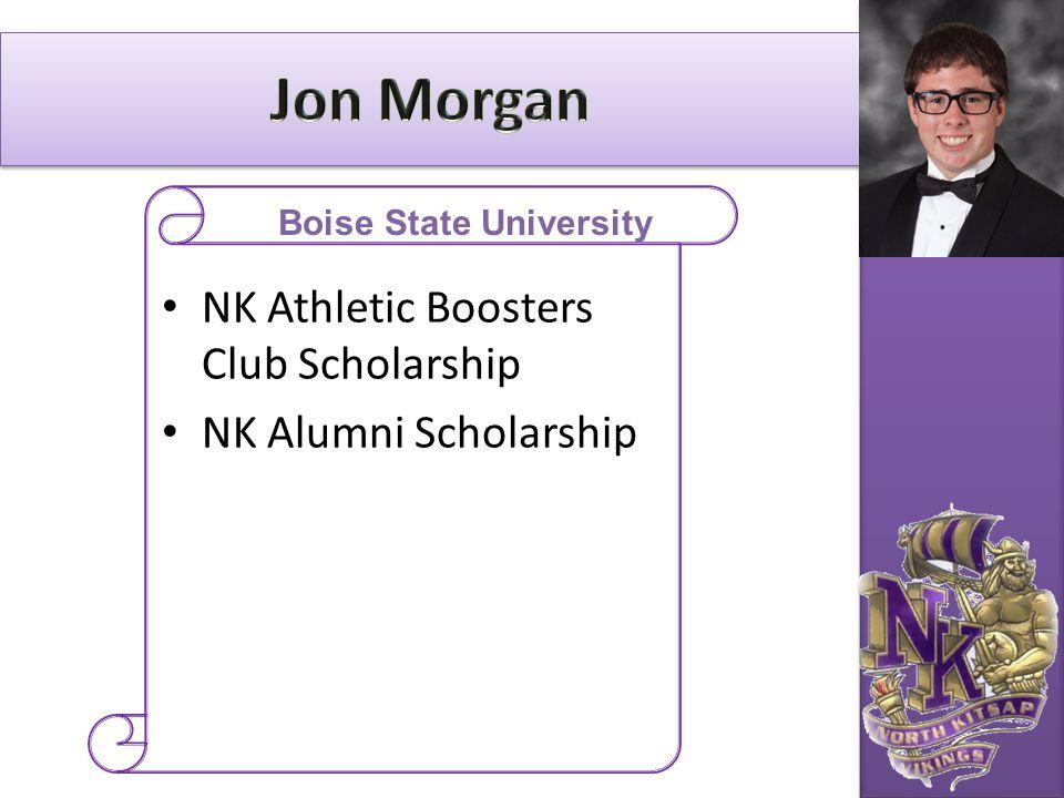 NK Athletic Boosters Club Scholarship NK Alumni Scholarship Boise State University