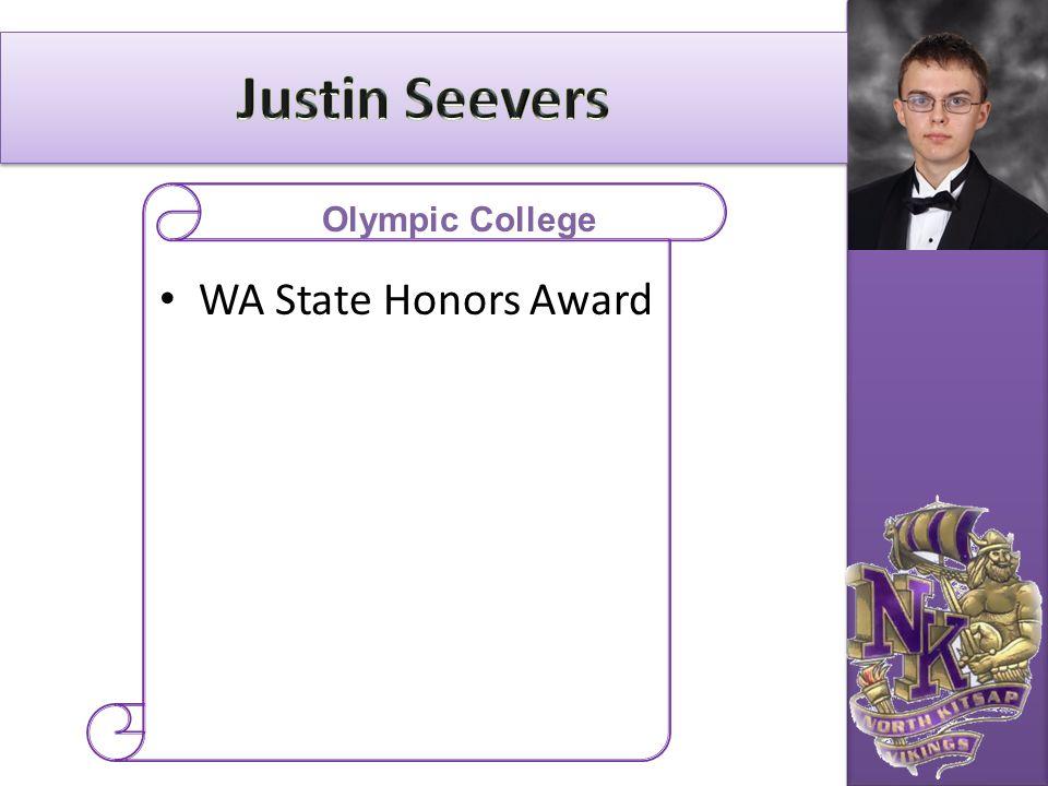 WA State Honors Award Olympic College