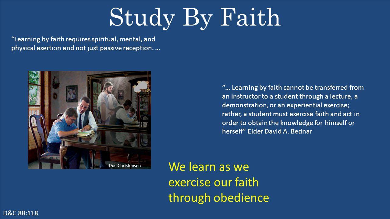 How Can I Increase My Faith.