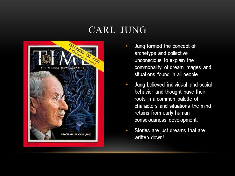 Jung formed the concept of archetype and collective unconscious to explain the commonality of dream images and situations found in all people.