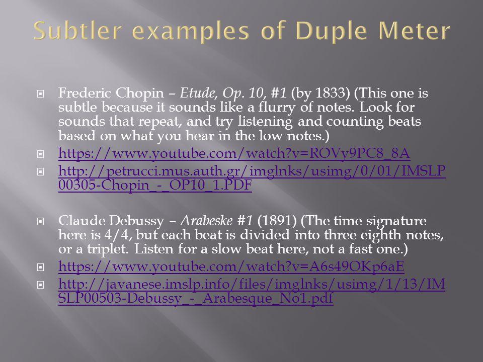 Frederic Chopin – Etude, Op.