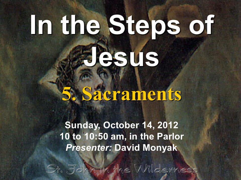 In the Steps of Jesus 5.