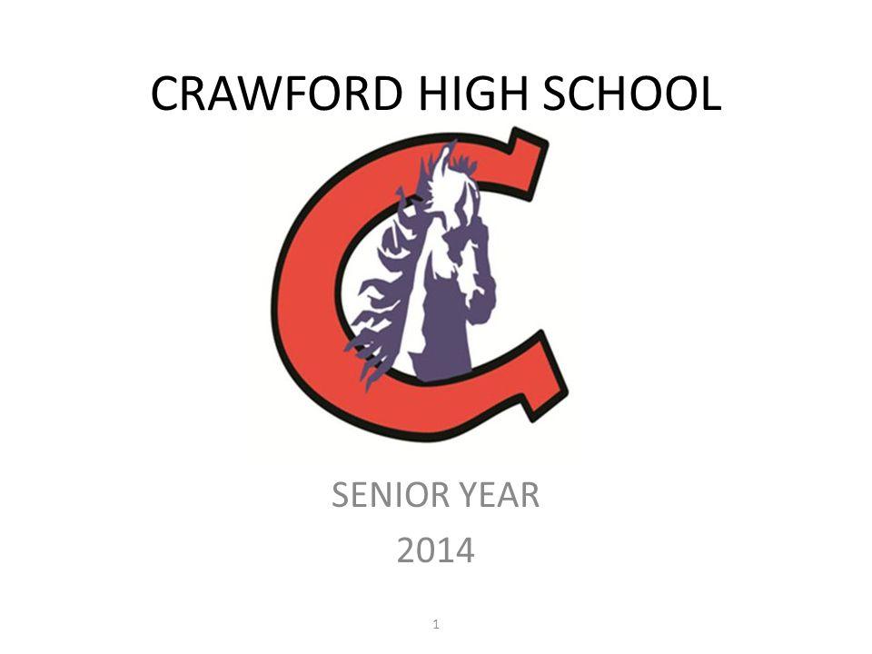 CRAWFORD HIGH SCHOOL SENIOR YEAR 2014 1