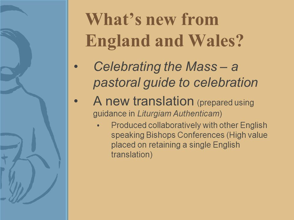 What's new from England and Wales.