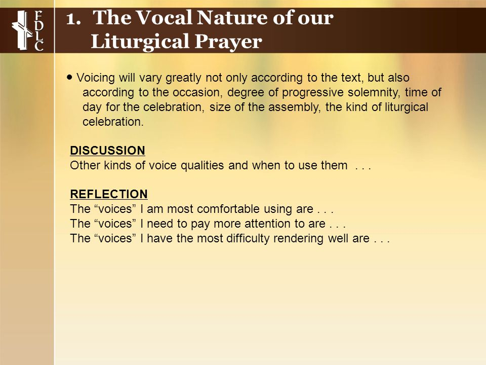 DISCUSSION Other kinds of voice qualities and when to use them...