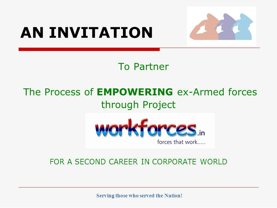 INTRODUCTION  WorkForces is a focused initiative by Rite Choice® Consultants P.Ltd.