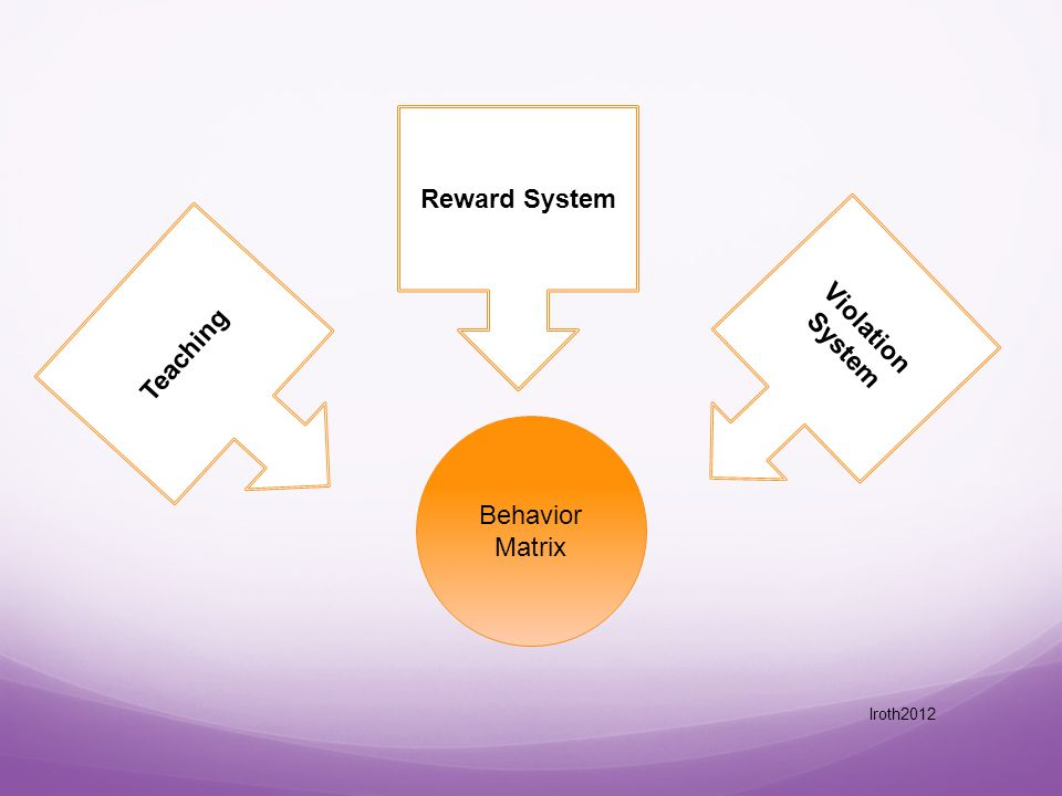 Behavior Matrix Teaching Reward System Violation System lroth2012