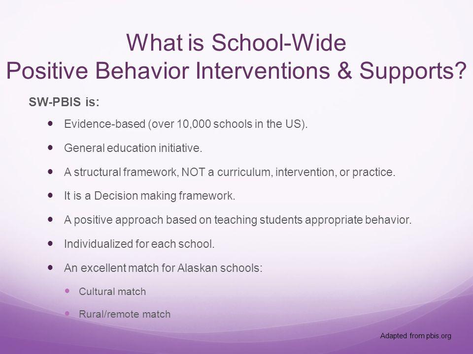 Behavior Incident types.