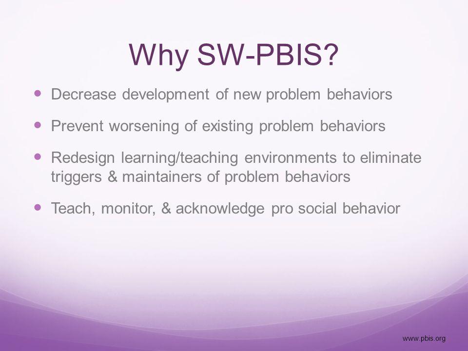 www.pbisassessment.org System Data Staff surveys and assessments Self Assessment Survey (SAS) School Evaluation Tool (SET) Team Implementation Checklist (TIC) School Safety Survey (SSS)