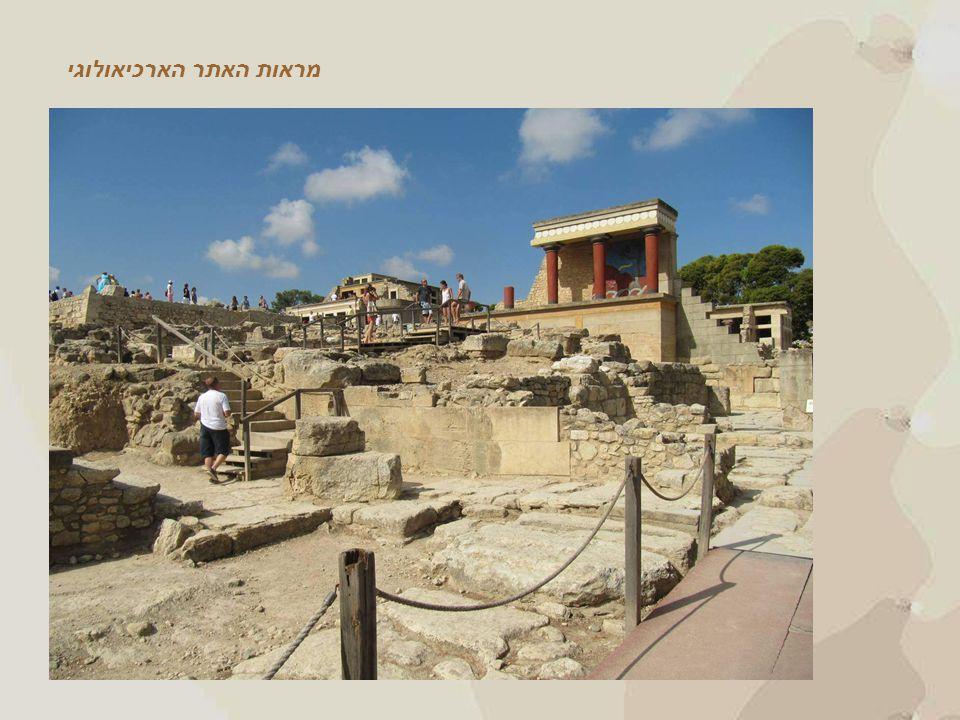 מראות האתר הארכיאולוגי