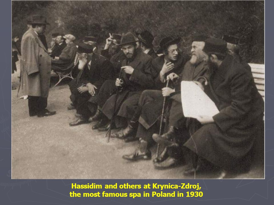 Yeshivah students on Nalewki Street Warsaw, 1928