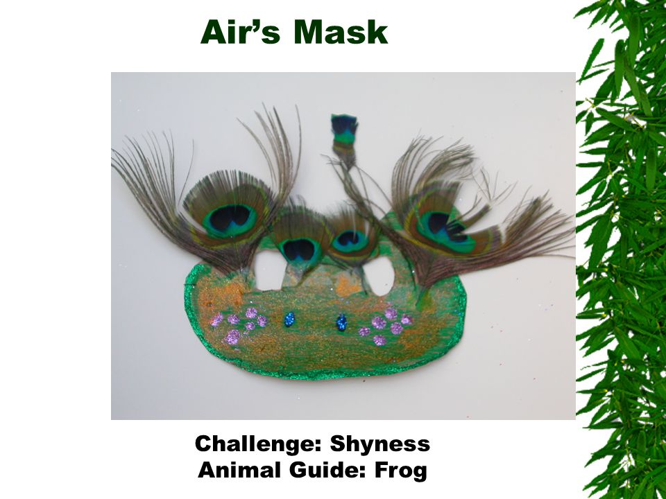 Air's Mask Challenge: Shyness Animal Guide: Frog