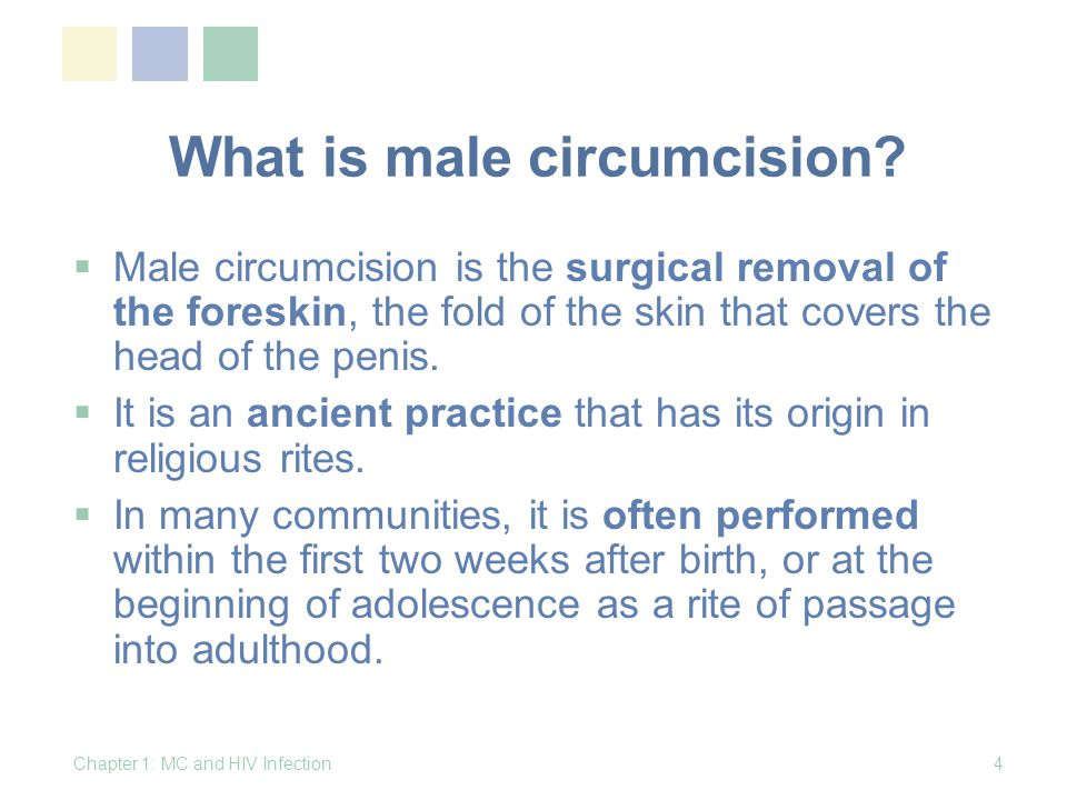 How is MC performed. Briefly:  The foreskin is freed from the head of the penis (glans).