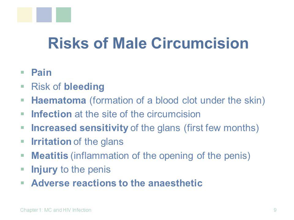 10 Hypothesis Lack of circumcision Increased risk of HIV Increased risk of STIs